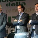 Con Walter Veltroni e Enzo Amendola