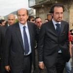 Con Pieruigi Bersani